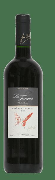 Les Tannes biologische  Cabernet Sauvignon en Merlot