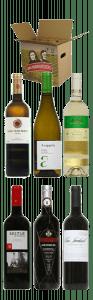 Wijnpakket Spanje witte en rode wijnen