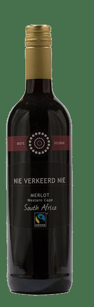Nie Verkeerd Nie Merlot Fairtrade