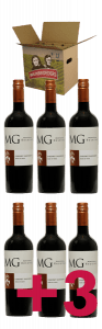 Wijnpakket MG Cabernet Sauvignon Reserva 6 + 3