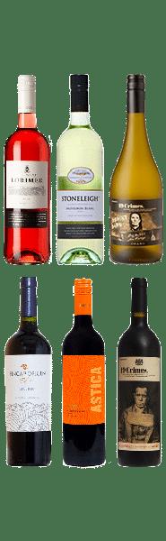 Wijnpakket Zuidelijk Halfrond