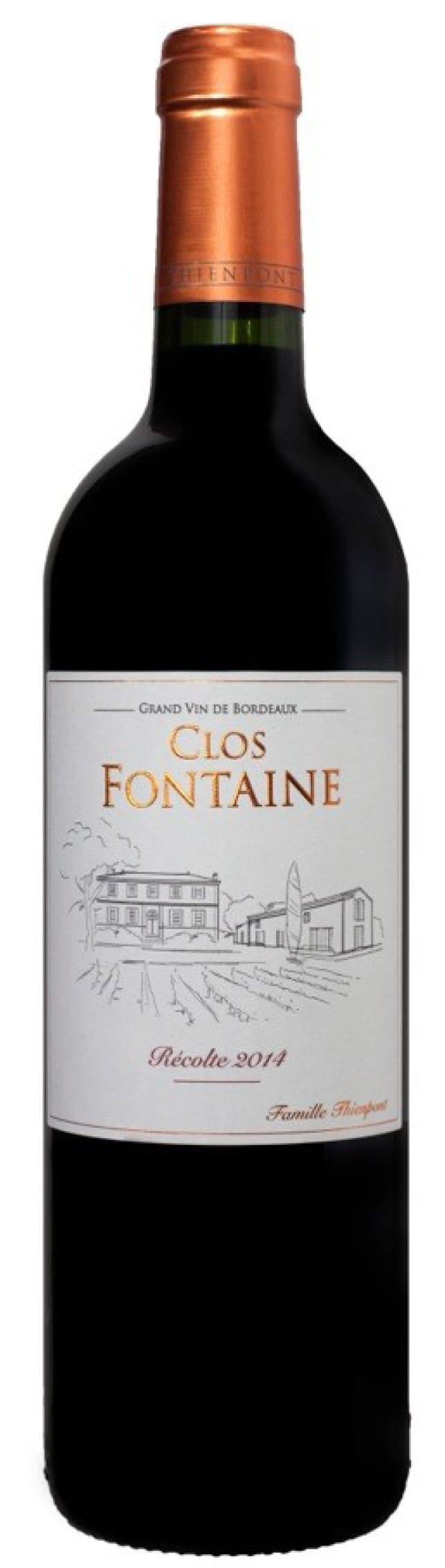 Chateau Clos Fontaine 2014