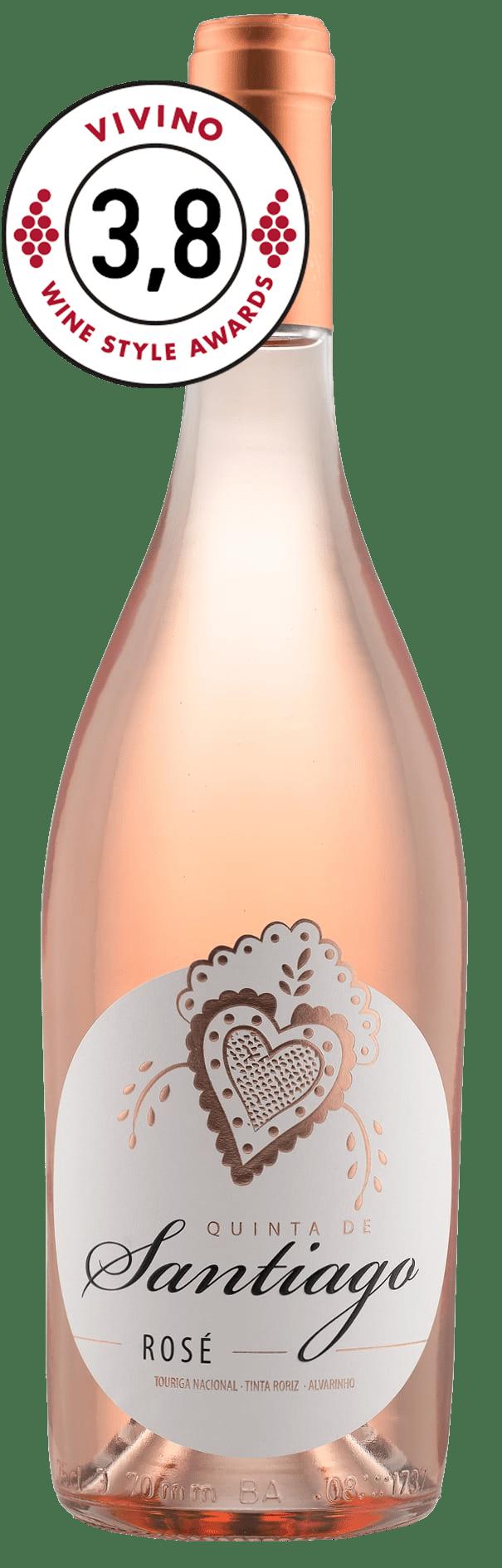 Quinta de Santiago Alvarinho Rosé 2017