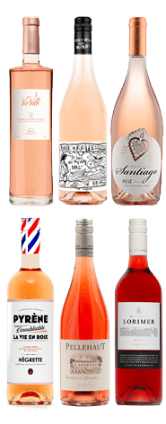 wijnpakket la vie en rose