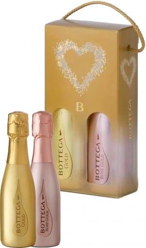 Bottega Piccolo Gold + Piccolo Rosé Gold Gift Pack