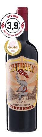 Chunky Red Double American Oak Zinfandel 2018