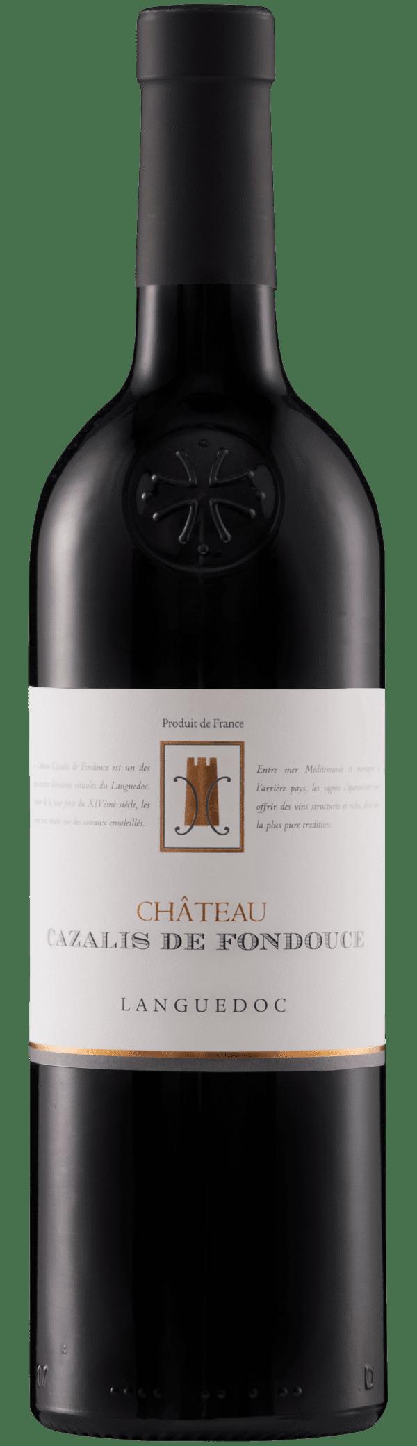 Caves l'Ormarine Château Cazalis de Fondouce Rouge 2016