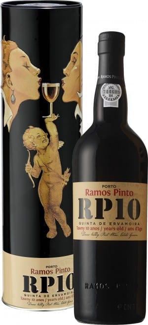 "Ramos Pinto ""Quinta da Ervamoira""10 Kiss Metal 10 Years Old"