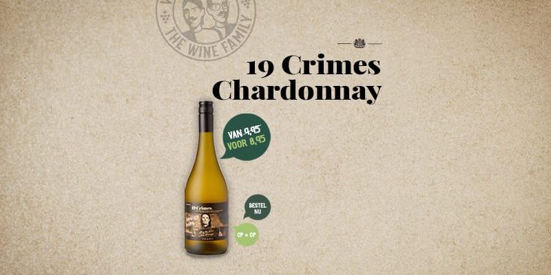 19 Crimes Chardonnay | Wijnbroeders