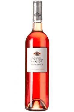 Chateau Canet Minervois Rose wijn