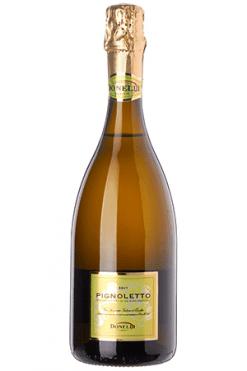 Donelli Pignoletto Brut wijn