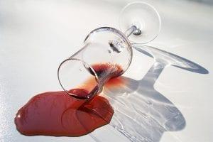 Rode wijn uit kleding verwijderen