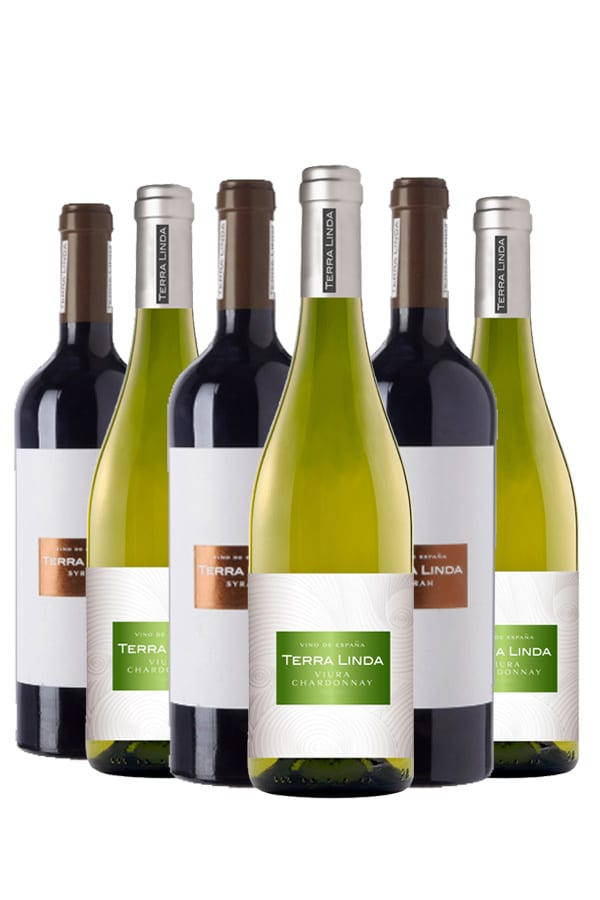Terra Linda Syrah & Chardonnay mix – 6 flessen