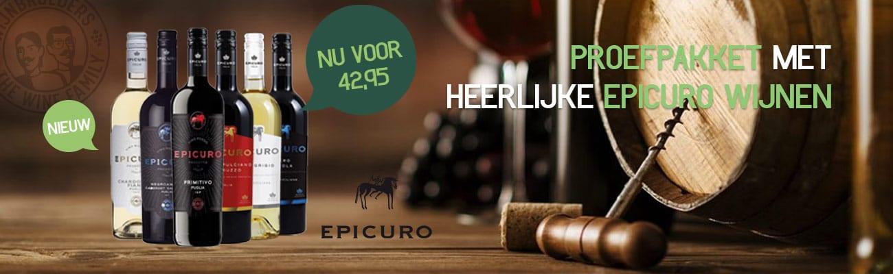Proefpakket Epicuro | Wijnbroeders