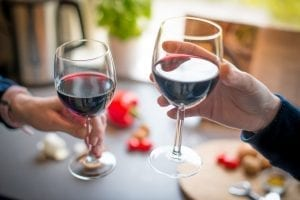 ideale temperatuur rode wijn