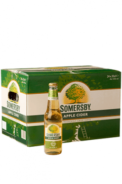 Apple cider 33cl somersby