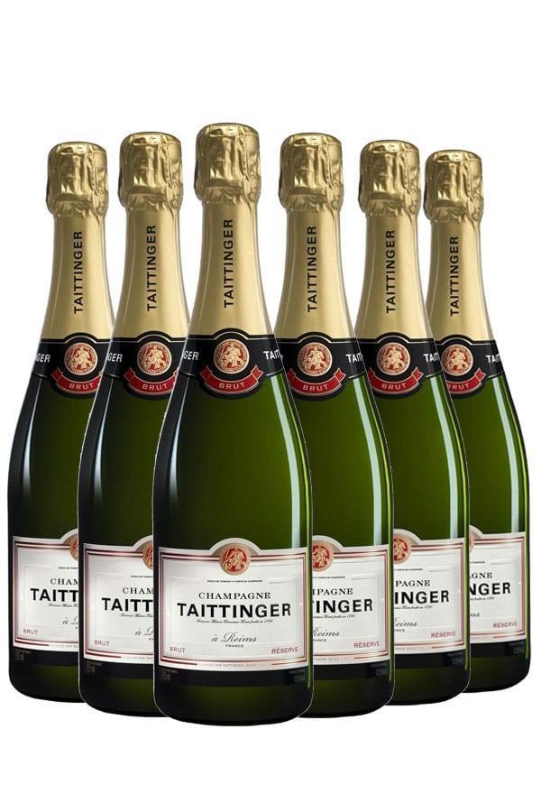 Champagne Taittinger Brut Réserve Wijnvoordeel – 6 flessen