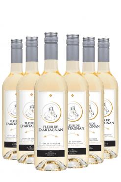 Fleur de d'Artagnan Blanc- 6 flessen