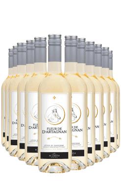 Fleur de d'Artagnan blanc- 12 flessen