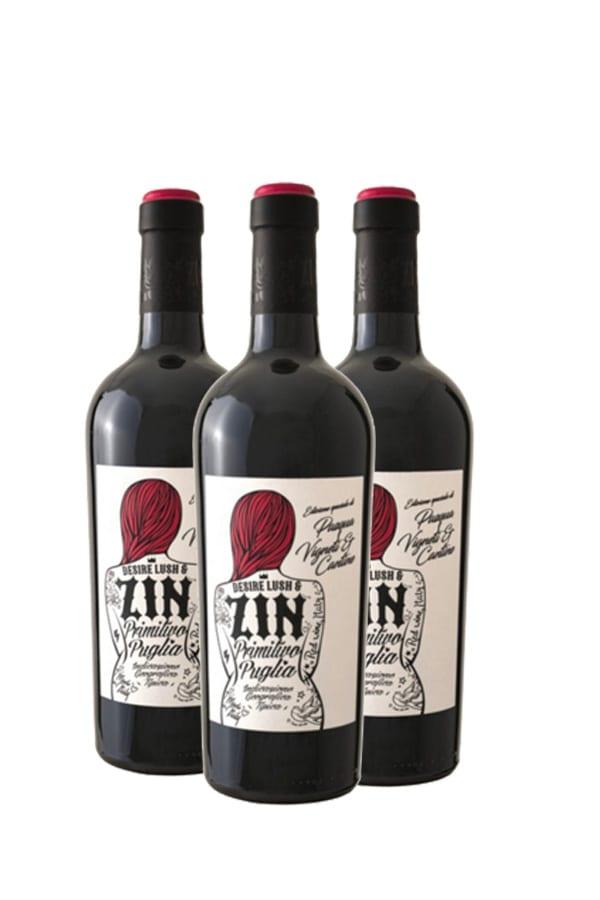 Pasqua Desire Lush & Zin Primitivo – 3 flessen