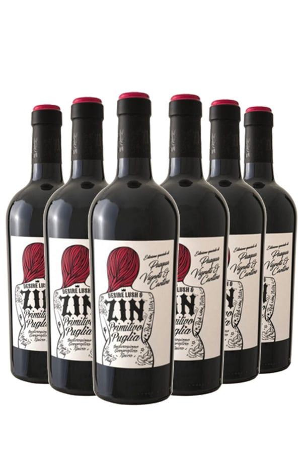 Pasqua Desire Lush & Zin Primitivo – 6 flessen