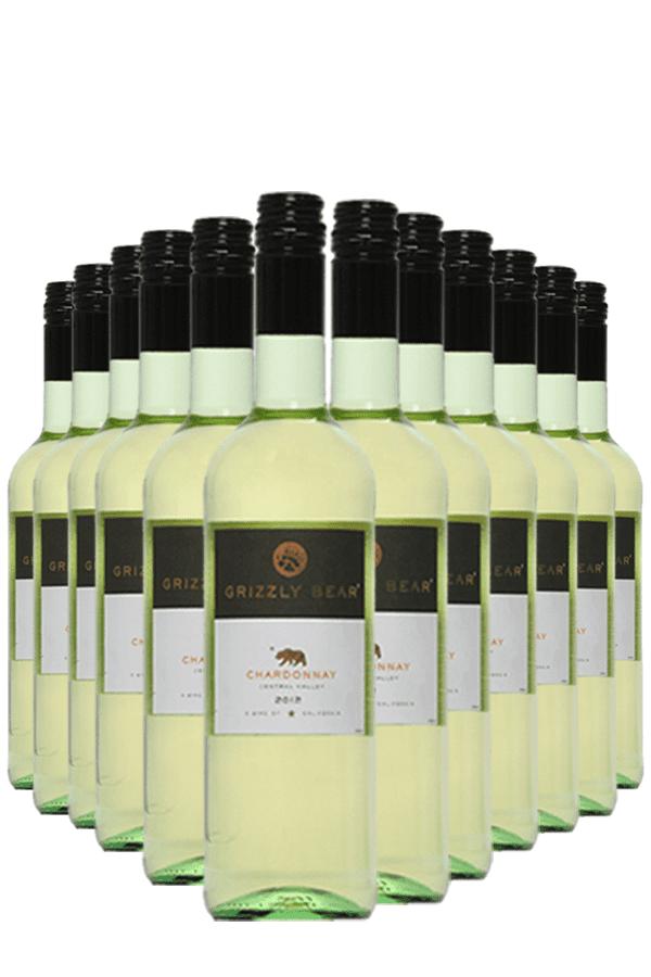 Grizzly Bear Chardonnay Wijnvoordeel – 12 flessen