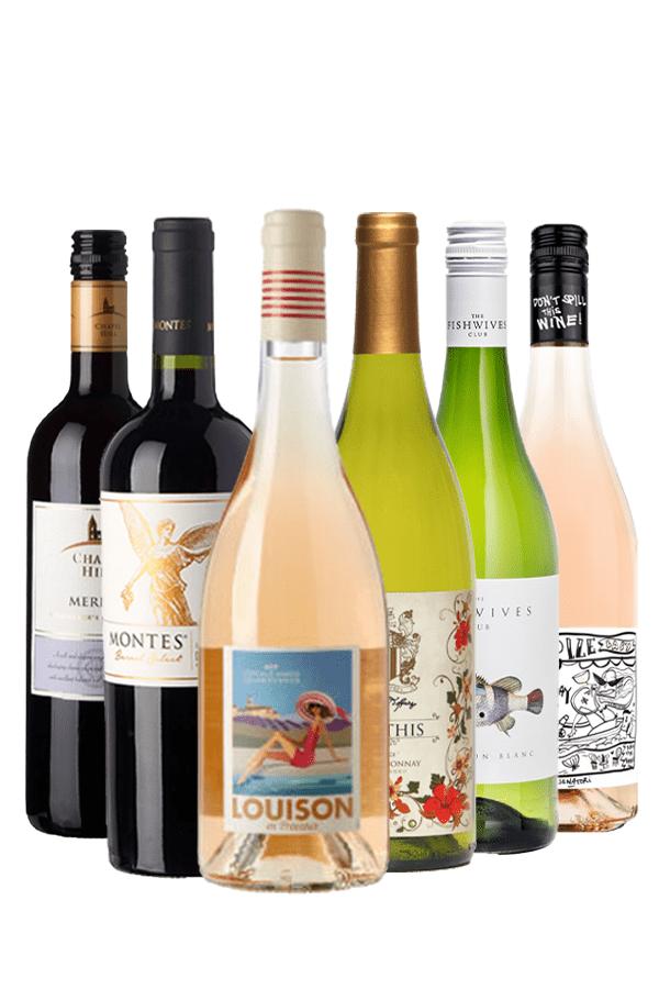 Wijnpakket voor Mama's