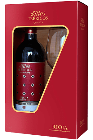 Torres, Altos Ibericos Crianza giftpack met glas