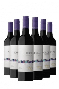 chiloé merlot - 6 flessen