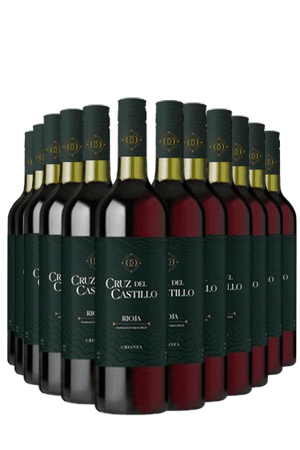 Cruz del Castillo Tinto Crianza Wijnvoordeel – 12 flessen