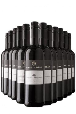 grizzly bear cabernet sauvignon - 12 flessen