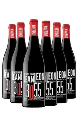jean leon merlot petit verdot - 6 flessen