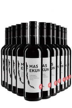 mas ekun cabernet sauvignon - 12 flessen
