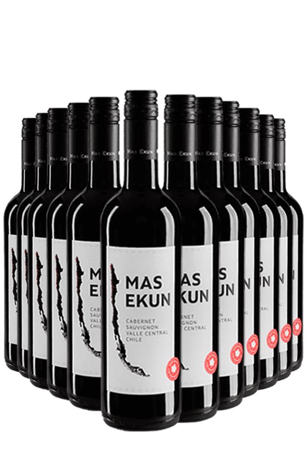 Mas Ekun Cabernet Sauvignon Wijnvoordeel – 12 flessen