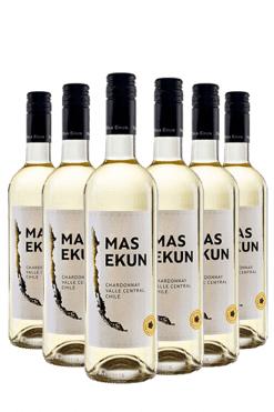 mas ekun chardonnay - 6 flessen