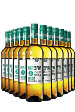 montespina verdejo - 12 flessen