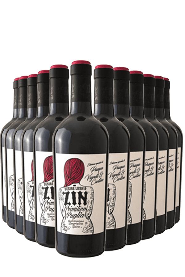 Pasqua Desire Lush & Zin Primitivo Wijnvoordeel – 12 flessen