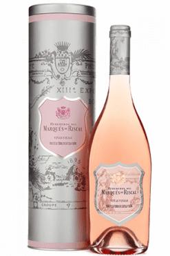 Marqués de Riscal, Rosado Viñas Viejas in Gift tin