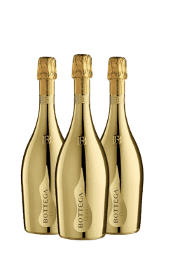 bottega gold - 3 flessen