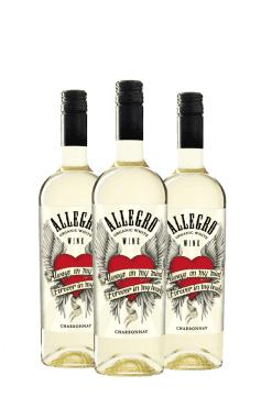 Allegro chardonnay - 3 flessen