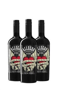 Allegro primitivo - 3 flessen