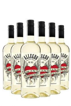 allegro chardonnay - 6 flessen