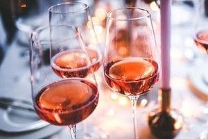 Spaanse rose wijn