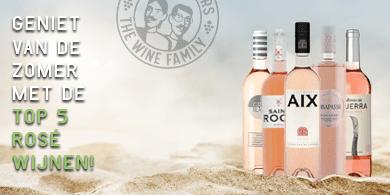 Top 5 rosé wijnen   Wijnbroeders
