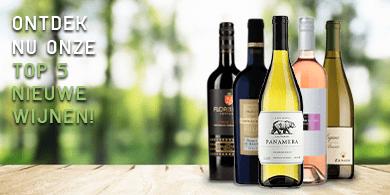 Top 5 nieuwe wijnen   Wijnbroeders